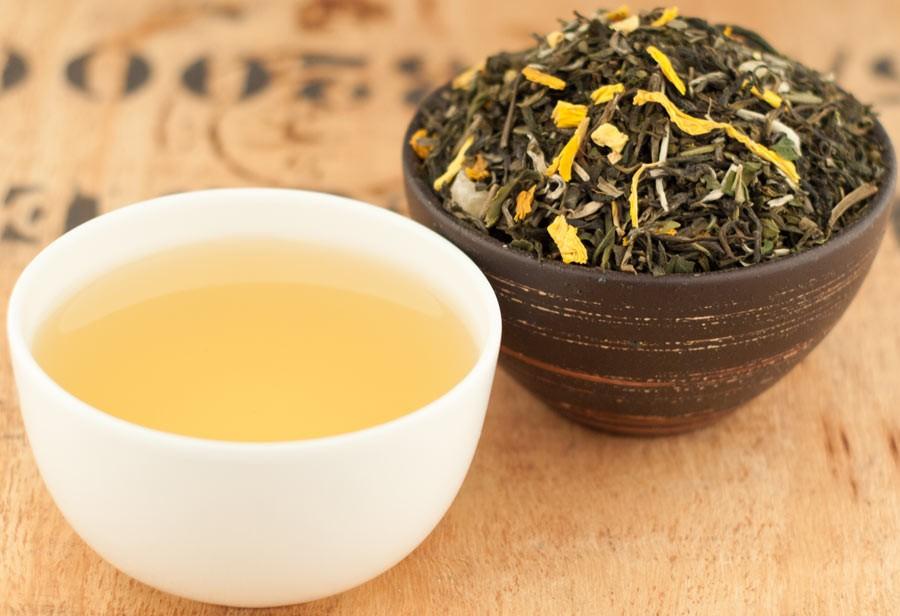 Herbata Biała Zielona Martynika