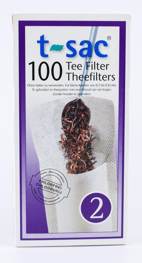 Filtry Papierowe do Herbaty t-sac 2