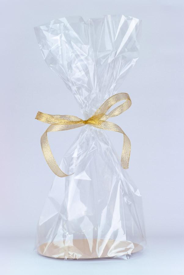 Krążek złoty-srebrny duży