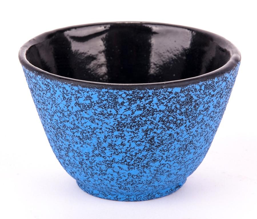 Czarka Żeliwna Niebiesko-Czarna 0,12l