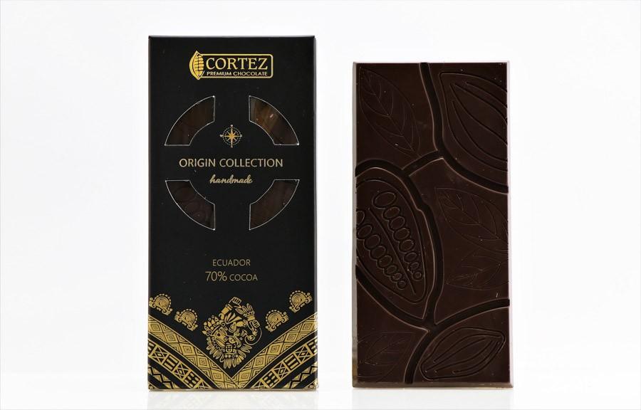 Czekolada Origin Ekwador 70% Cortez 85g