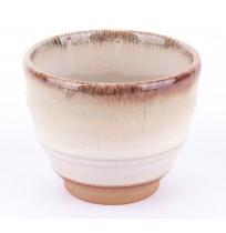 Czarka Handmade Tokyo 8,5x6,9cm Beżowa