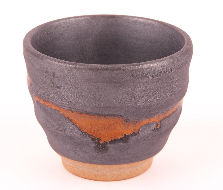 Czarka Handmade Tokyo 8,5x6,9cm Niebieska/Brązowa