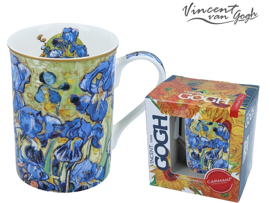Kubek Classic New - V.Van Gogh - Irysy 400ml