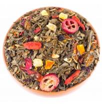 Herbata Żółta Huangcha Granat Żurawina