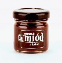 Miód Wielokwiatowy z Kakao 40g
