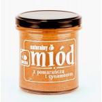 Miód Wielokwiatowy z Pomarańczą i Cynamonem 350g