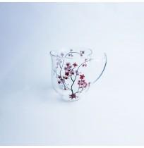 Kubek Szklany Cherry Blossom 350ml