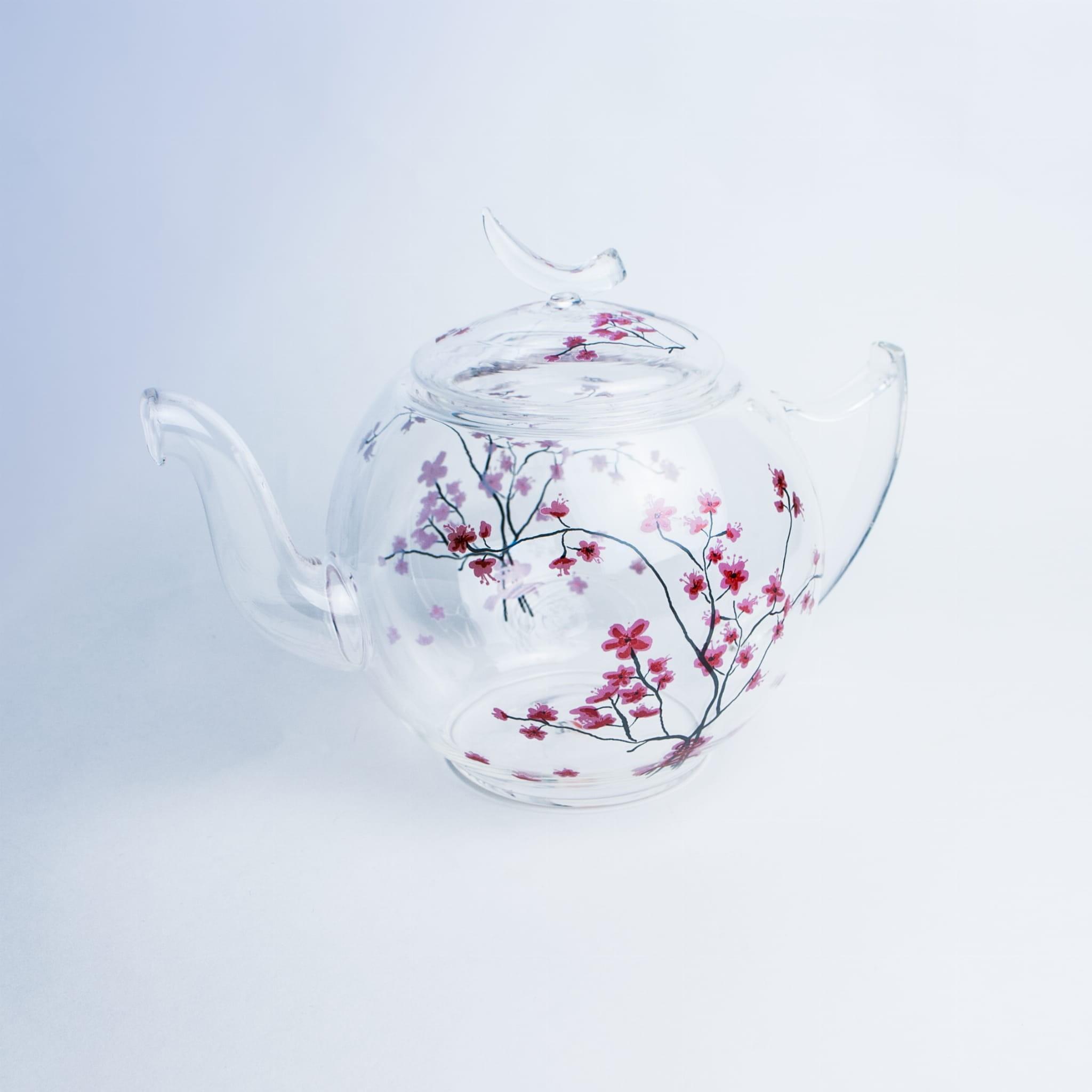 Dzbanek szklany Cherry Blossom