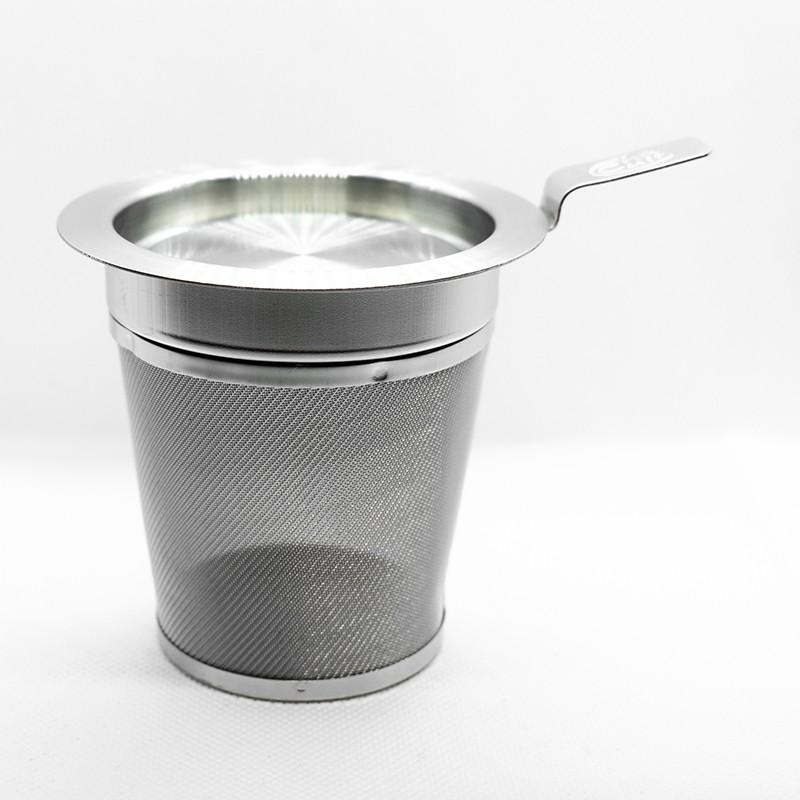 Filtr stalowy z przykrywką 7cm
