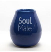 Matero Ceramiczne Niebieskie Soul Mate 250ml