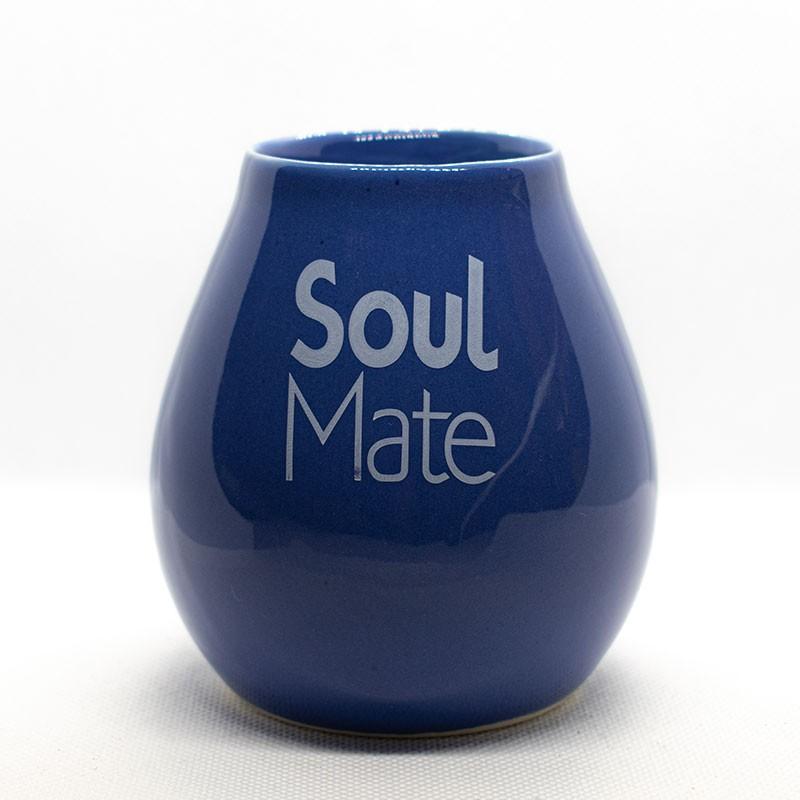 Matero Ceramiczne Niebieskie Soul Mate
