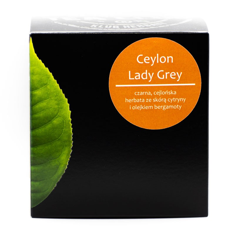 Ceylon Lady Grey - Piramidki 20x2g