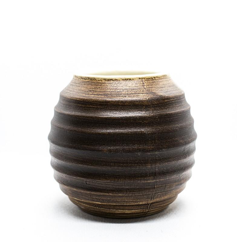 Matero Ceramiczne J.M. Perez Brązowe 400ml