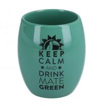 Matero Ceramiczne Oval Zielone 200ml