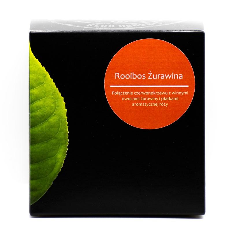 Rooibos Żurawina - Piramidki 20x2,5g