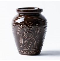 Matero Ceramiczne Azteka Brązowe 300ml
