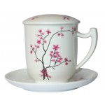 Kubek z Zaparzaczem Cherry Blossom 380ml