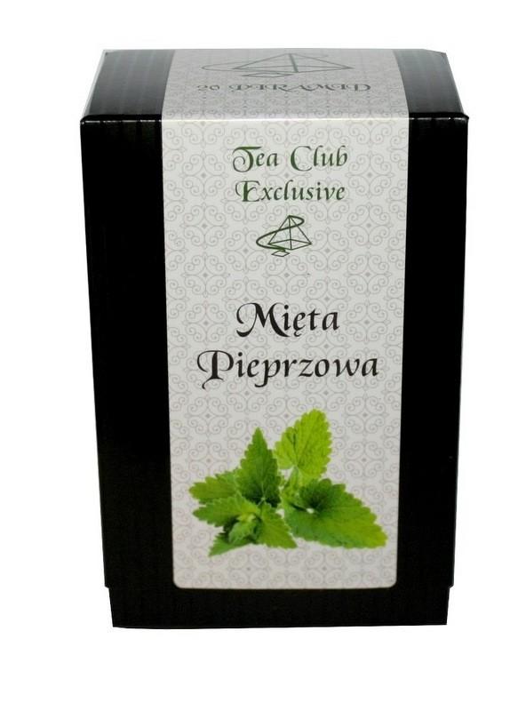 Mięta Pieprzowa Exclusive 40g - Piramidki 20x2g