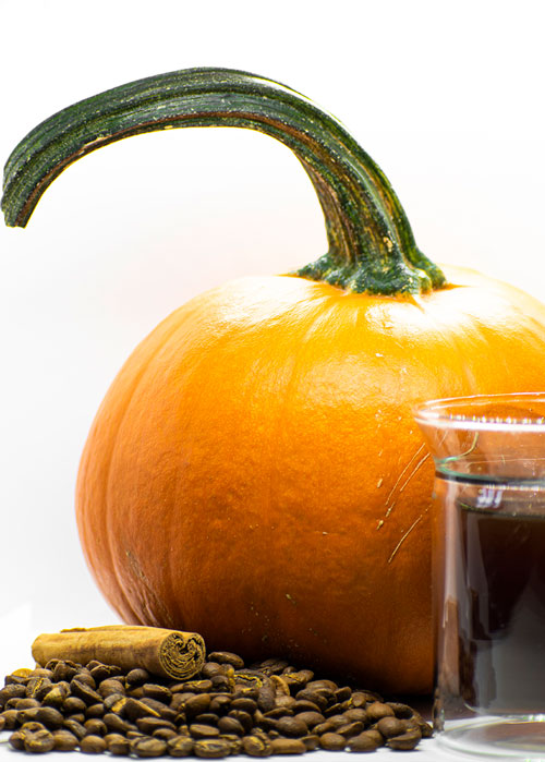 Kawa Dynia z Cynamonem