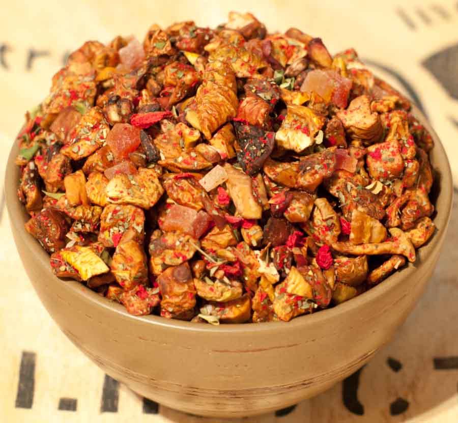 Herbata owocowa Malinowa Moringa